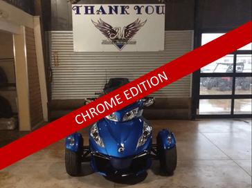 OXF BLUE MET/CHROME