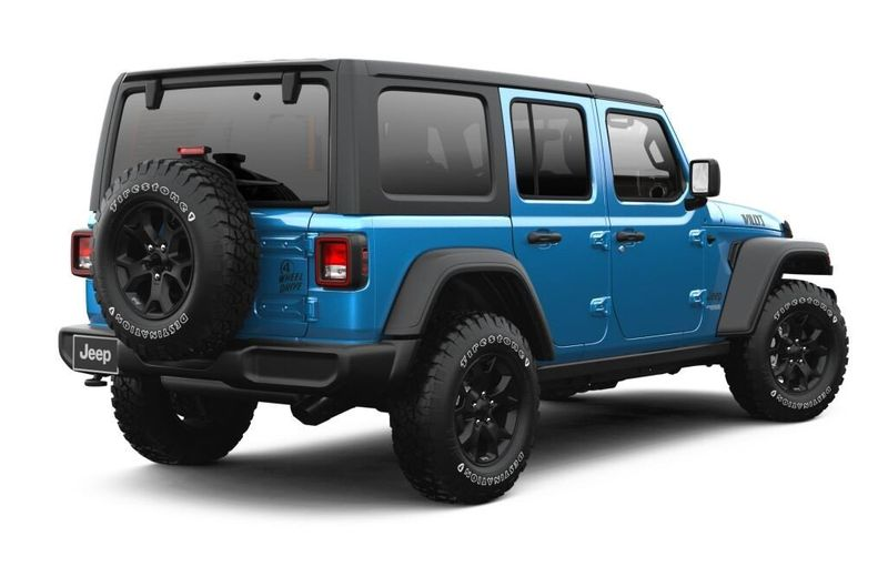 2021 JEEP WRANGLER UNLIMITED WILLYS 4X4Image 2