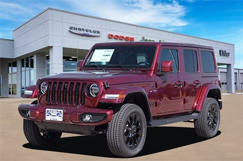 2021 JEEP WRANGLER UNLIMITED HIGH ALTITUDE 4X4Image 2