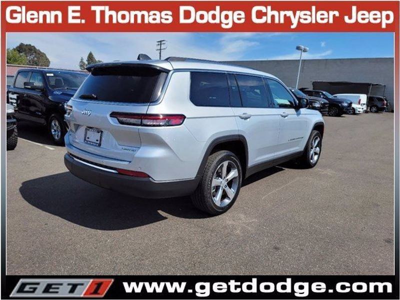 2021 JEEP GRAND CHEROKEE L LIMITED 4X2Image 4