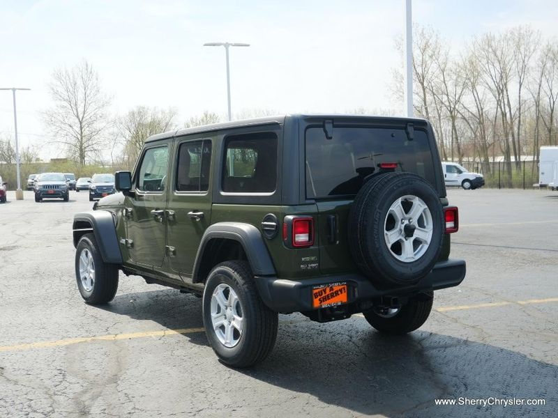 2021 JEEP WRANGLER UNLIMITED SPORT S 4X4Image 5