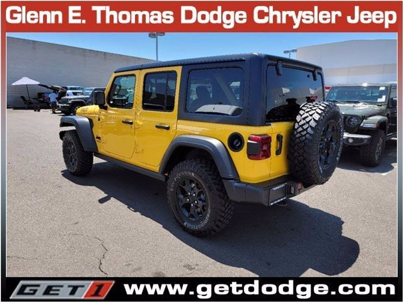 2021 JEEP WRANGLER UNLIMITED WILLYS 4X4Image 6