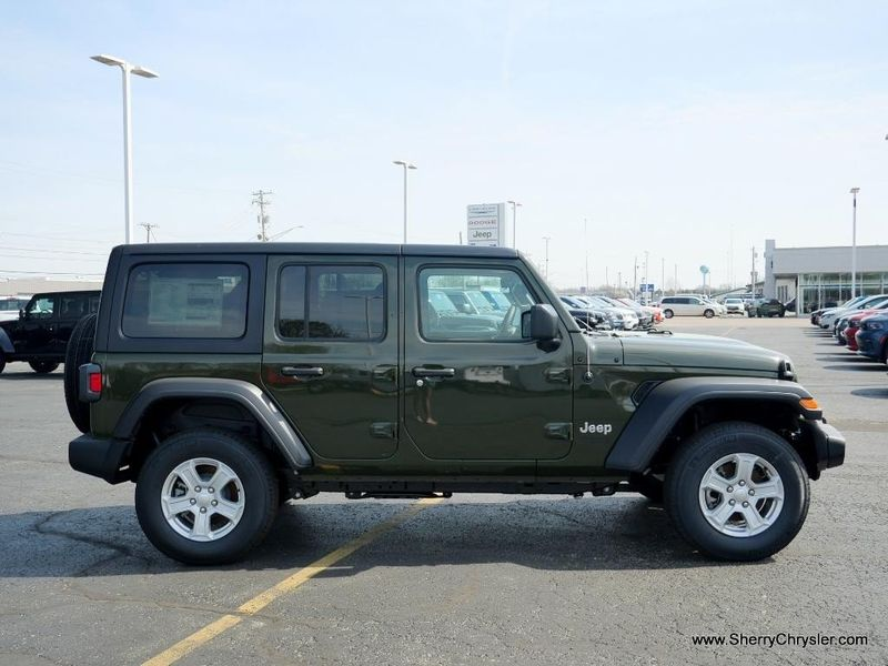 2021 JEEP WRANGLER UNLIMITED SPORT S 4X4Image 11