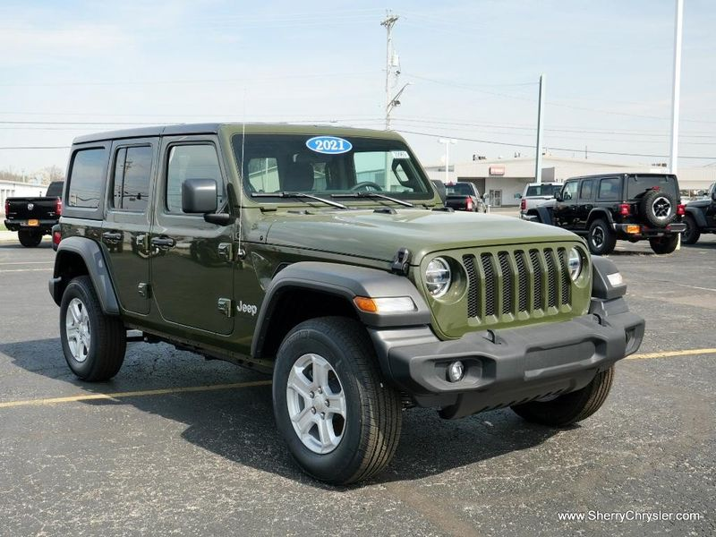 2021 JEEP WRANGLER UNLIMITED SPORT S 4X4Image 12