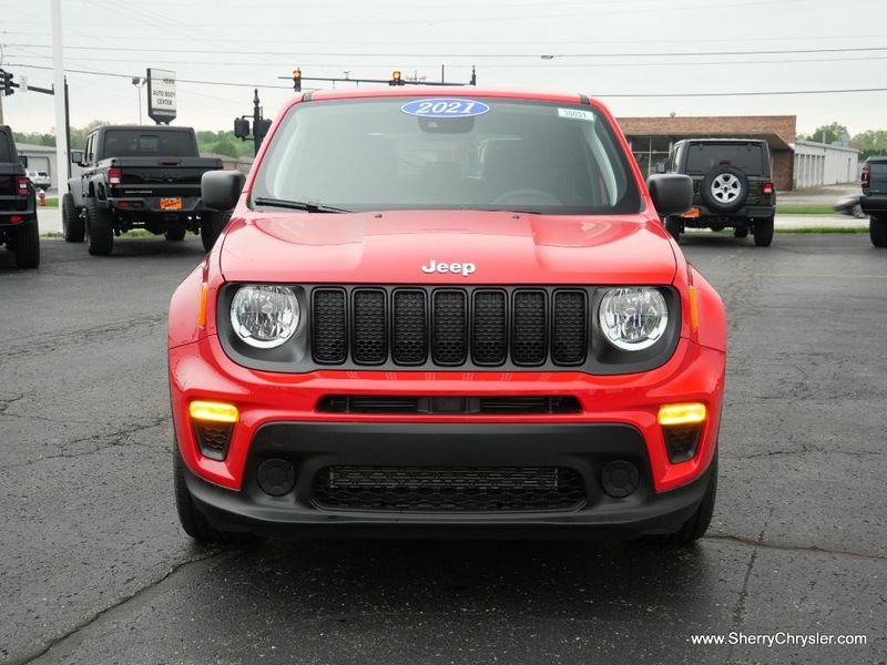 2021 JEEP RENEGADE JEEPSTER FWDImage 12