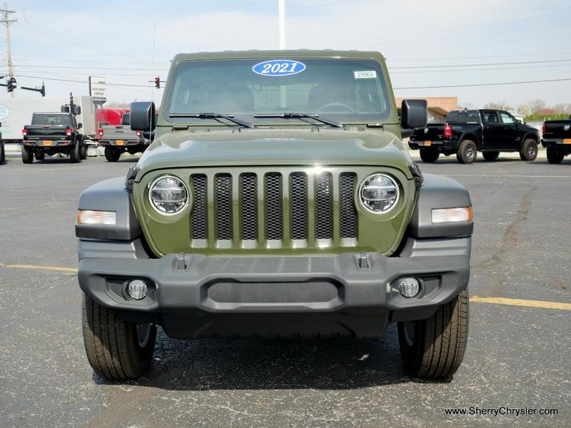 2021 JEEP WRANGLER UNLIMITED SPORT S 4X4Image 13
