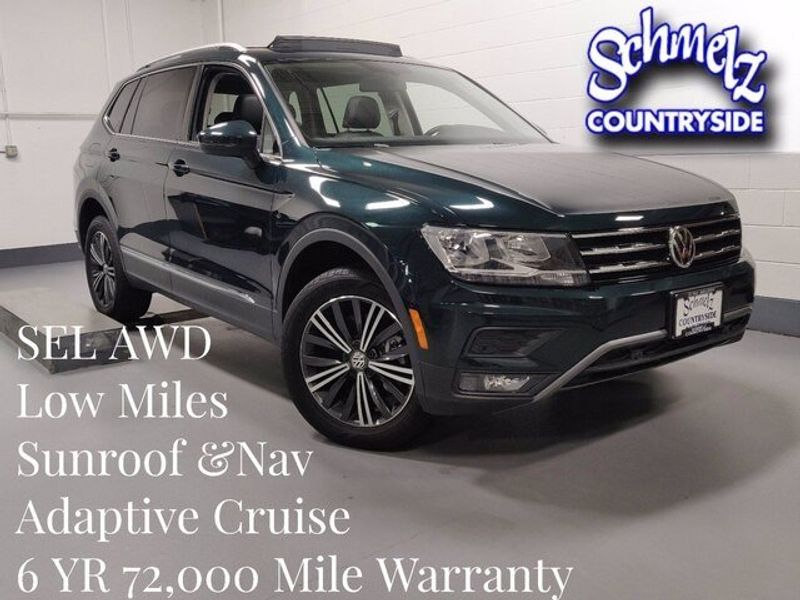2019 Volkswagen Tiguan SEL 4-Motion AWD w/SunroofImage 1