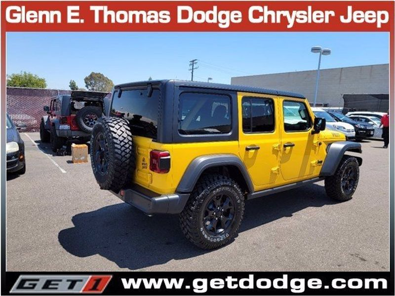 2021 JEEP WRANGLER UNLIMITED WILLYS 4X4Image 4