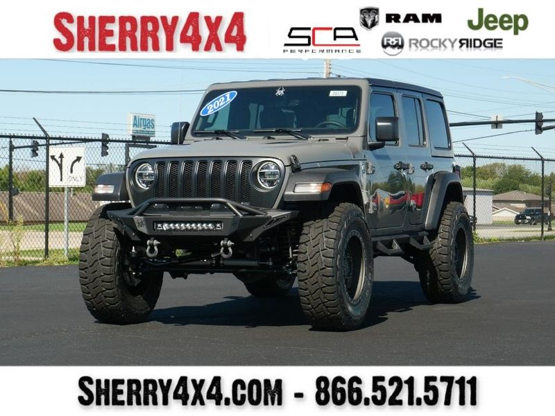 2021 JEEP WRANGLER UNLIMITED SPORT S 4X4Image 1