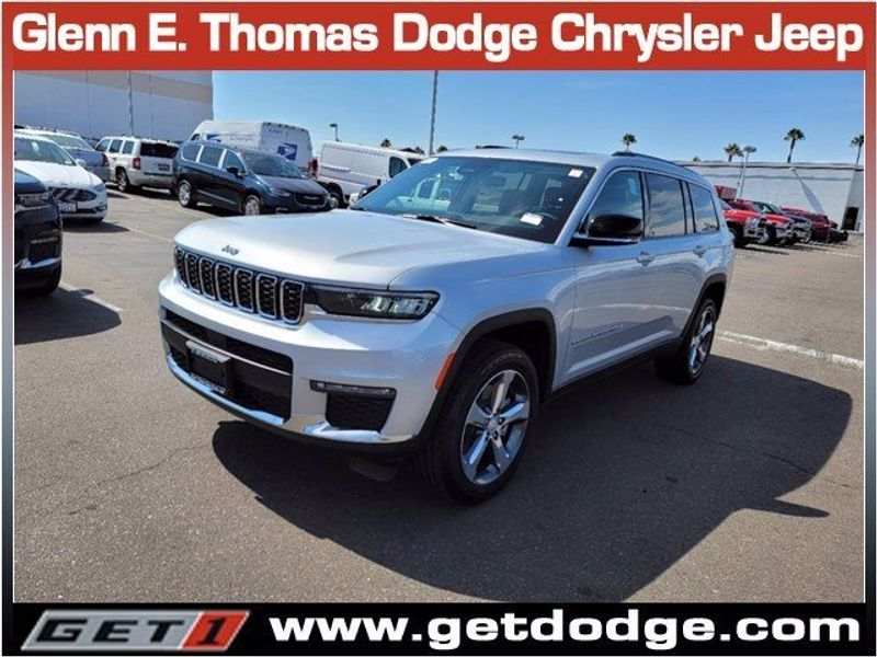 2021 JEEP GRAND CHEROKEE L LIMITED 4X2Image 3