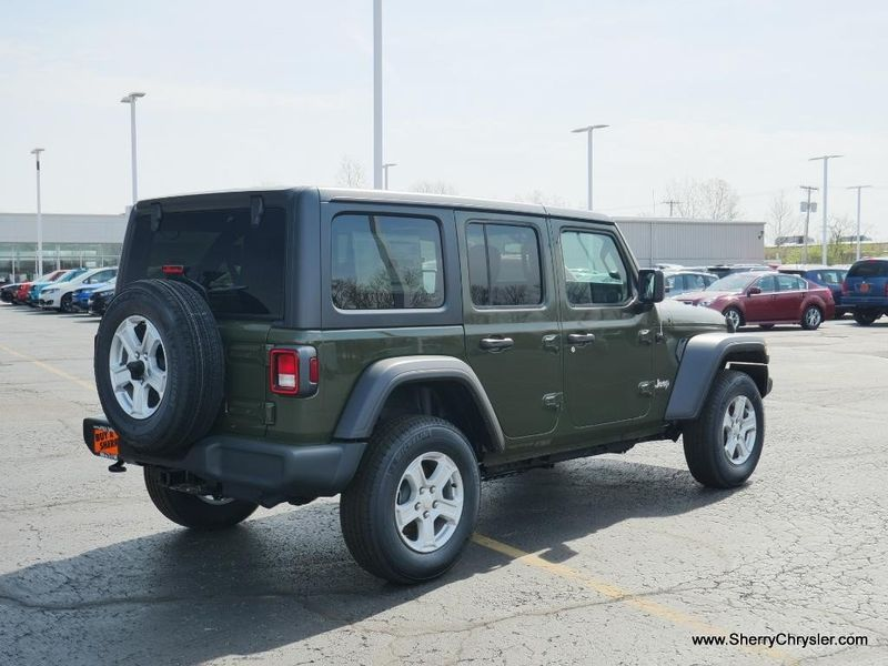 2021 JEEP WRANGLER UNLIMITED SPORT S 4X4Image 10