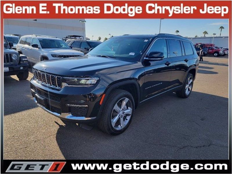 2021 JEEP GRAND CHEROKEE L LIMITED 4X4Image 3