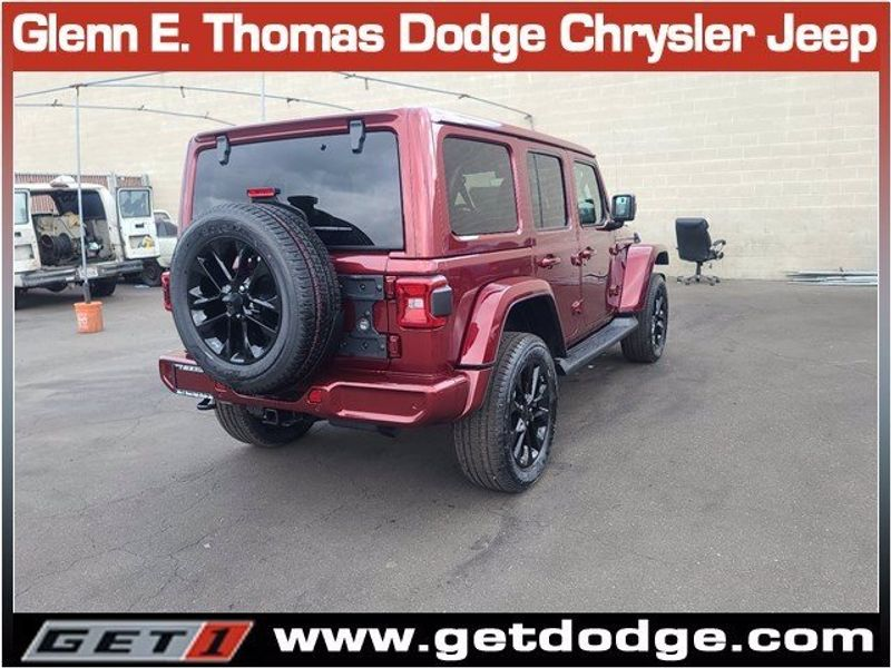 2021 JEEP WRANGLER UNLIMITED HIGH ALTITUDE 4X4Image 4