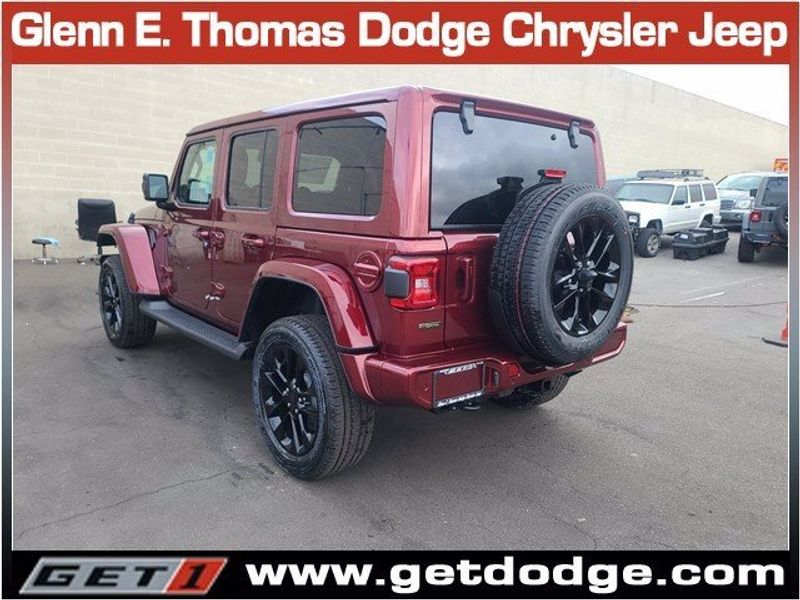 2021 JEEP WRANGLER UNLIMITED HIGH ALTITUDE 4X4Image 6