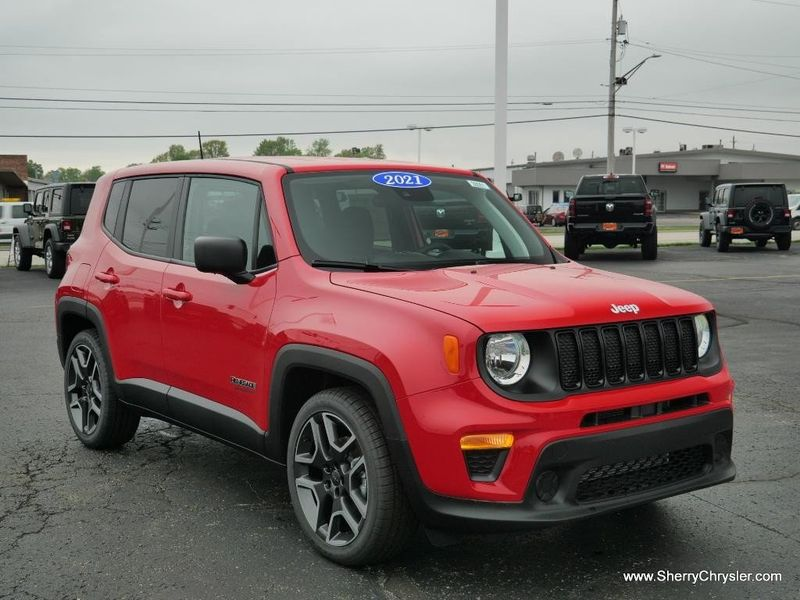 2021 JEEP RENEGADE JEEPSTER FWDImage 11