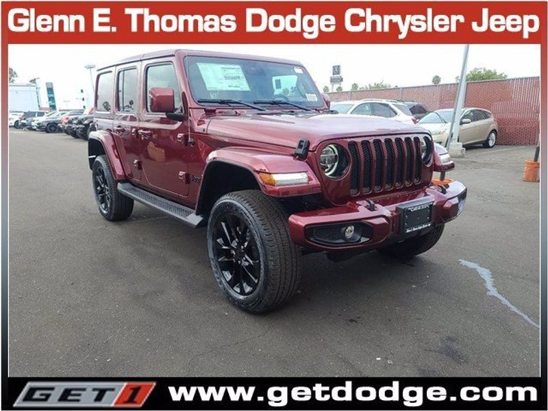 2021 JEEP WRANGLER UNLIMITED HIGH ALTITUDE 4X4Image 1