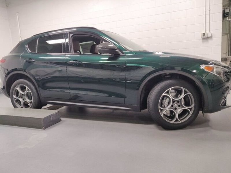 Used 2021 Alfa Romeo Stelvio  with VIN ZASPAKAN8M7D11777 for sale in Maplewood, Minnesota