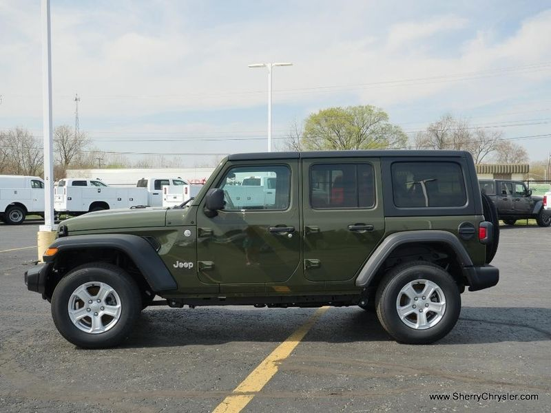 2021 JEEP WRANGLER UNLIMITED SPORT S 4X4Image 4