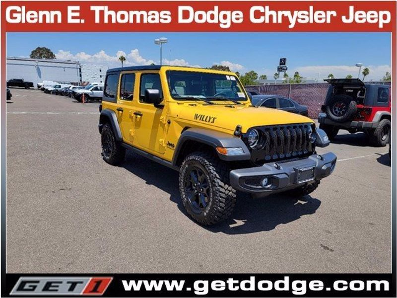 2021 JEEP WRANGLER UNLIMITED WILLYS 4X4Image 1