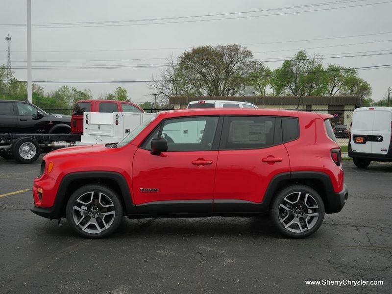 2021 JEEP RENEGADE JEEPSTER FWDImage 4