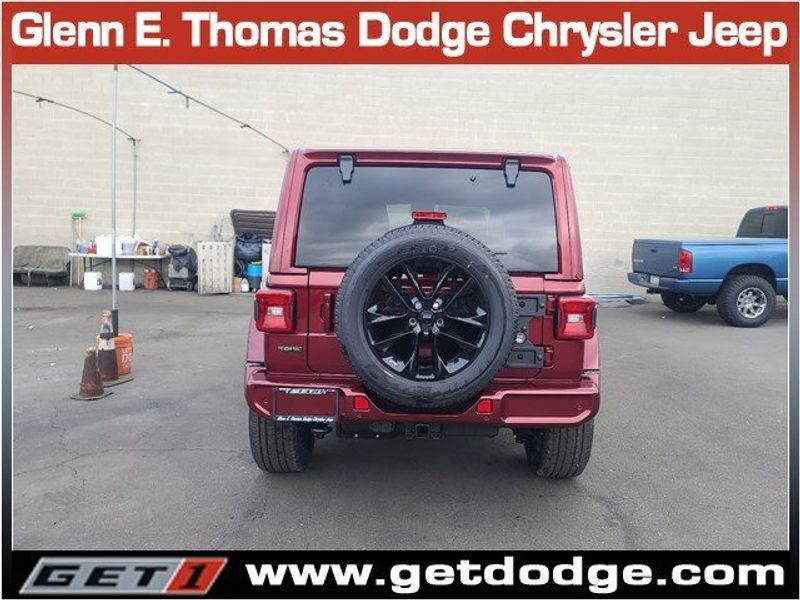 2021 JEEP WRANGLER UNLIMITED HIGH ALTITUDE 4X4Image 5